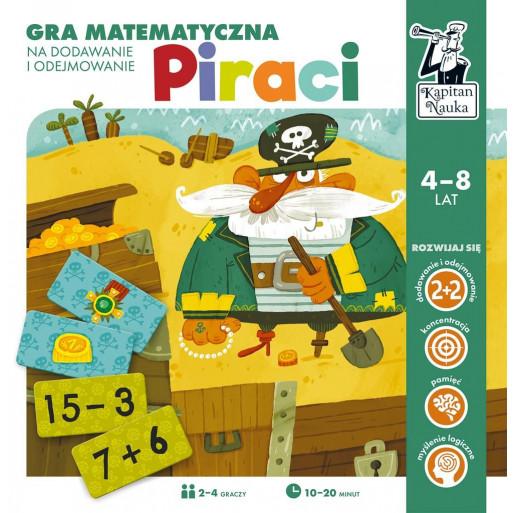 Gra Edukacyjna Kapitan Nauka. Gra matematyczna - Piraci