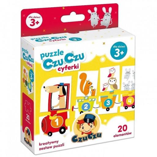 Gra Edukacyjna Puzzle CzuCzu cyferki
