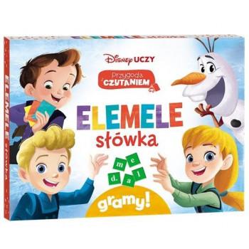 Gra Edukacyjna Disney Uczy. Przygoda z Czytaniem. Elemele słówka