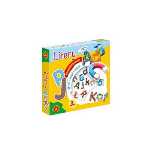 Gra Edukacyjna Magnesiaki - Litery ALEX