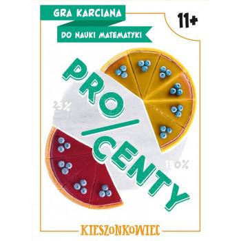 Gra Edukacyjna Gra karciana do nauki matematyki - Procenty
