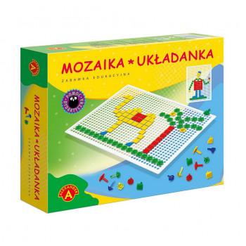 Gra Edukacyjna Mozaika - układanka w pudełku ALEX