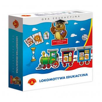 Gra Edukacyjna Lokomotywa edukacyjna ALEX