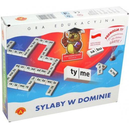 Gra Edukacyjna Sylaby w dominie  ALEX