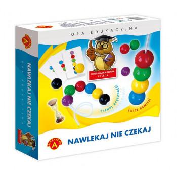 Gra Edukacyjna Nawlekaj nie czekaj ALEX