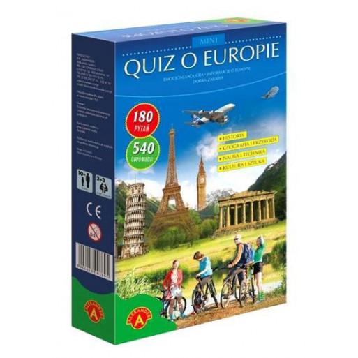 Gra Edukacyjna Quiz o Europie. Mini ALEX