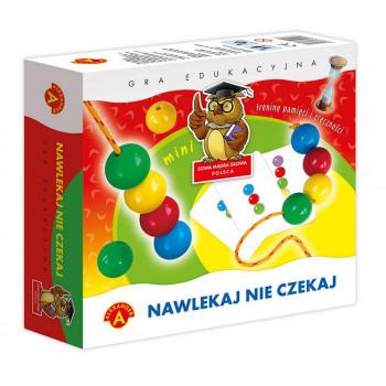 Gra Edukacyjna Nawlekaj nie czekaj mini ALEX