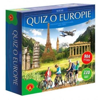 Gra Edukacyjna Quiz o Europie. Wielki ALEX