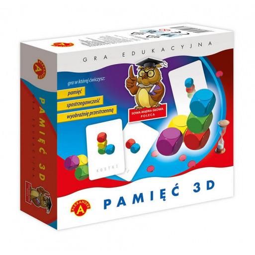 Gra Edukacyjna Pamięć 3D ALEX