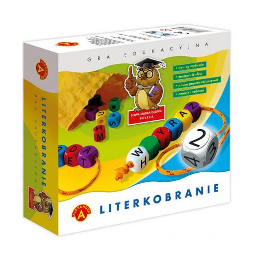 Gra Edukacyjna Literkobranie ALEX