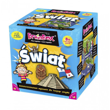 Gra Edukacyjna BrainBox Świat ALBI