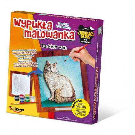 Wypukła malowanka Koty - Turecki Van