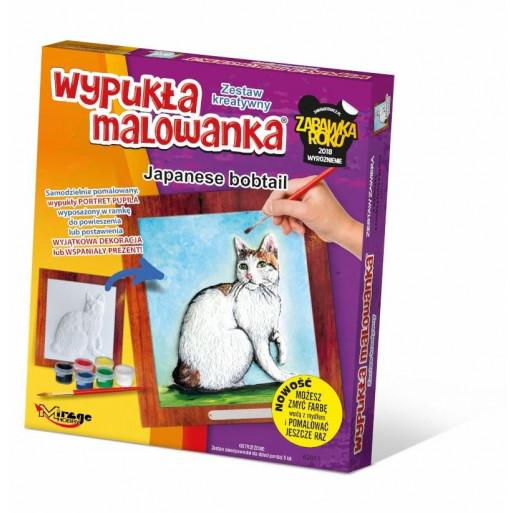 Wypukła Malowanka Koty - Japanese Bobtail