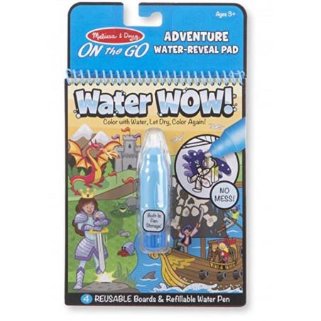 Kolorowanka wodna Przygody