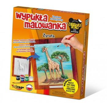 Wypukła Malowanka Zoo - Żyrafa