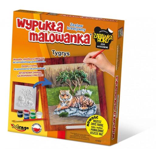 Wypukła Malowanka Zoo - Tygrys