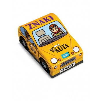 Gra Edukacyjna Gry do auta Znaki ALBI