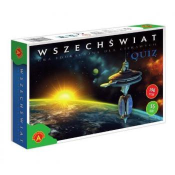 Gra Edukacyjna Wszechświat. Quiz ALEX