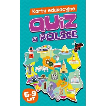 Gra Edukacyjna Karty edukacyjne. Quiz o Polsce