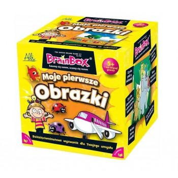 Gra Edukacyjna BrainBox Moje pierwsze obrazki ALBI