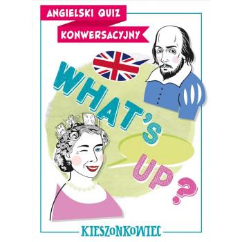 Gra Edukacyjna Angielski quiz konwersacyjny. What's up?