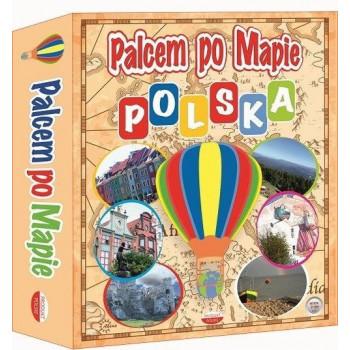 Gra Edukacyjna Palcem po mapie - Polska ABINO