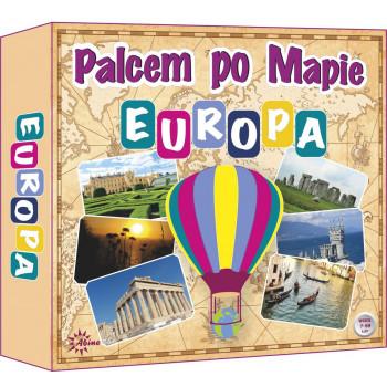 Gra Edukacyjna Palcem po mapie - Europa ABINO