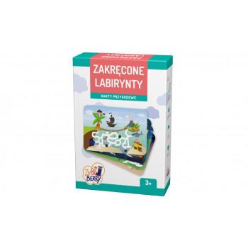 Gra Edukacyjna Zu&Berry - Zakręcone labirynty TREFL