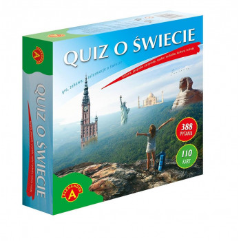 Gra Edukacyjna Quiz o świecie. Wielki ALEX