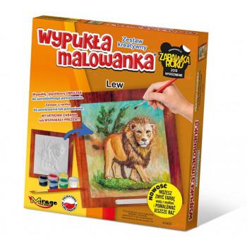Wypukła Malowanka Zoo - Lew