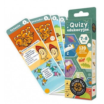 Gra Edukacyjna Xplore Team Quizy dla dzieci 7-8 lat