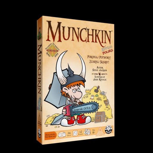 Munchkin BLACK MONK