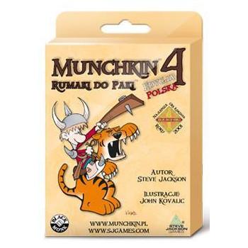 Munchkin 4 Rumaki do Paki BLACK MONK