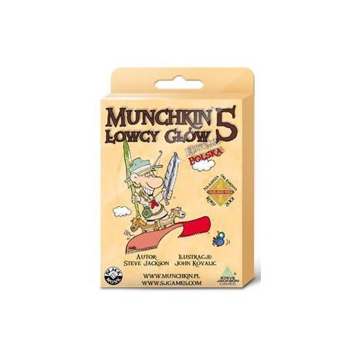 Munchkin 5 Łowcy Głów BLACK MONK