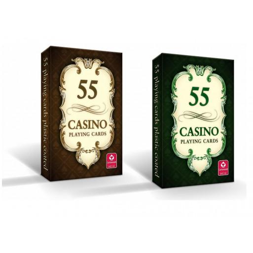CASINO - karty do gry 55 kart Cartamundi