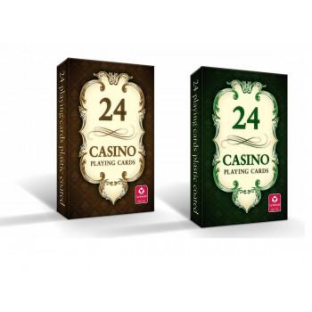 CASINO - karty do gry 24 karty Cartamundi