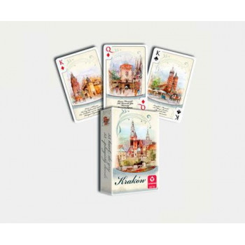 KRAKÓW AKWARELE - talia 55 kart