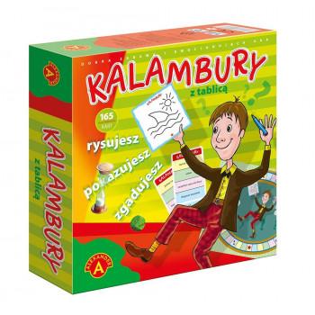 Kalambury z tablicą ALEX