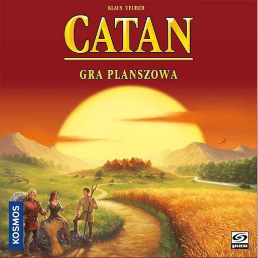 Catan - Gra planszowa GALAKTA