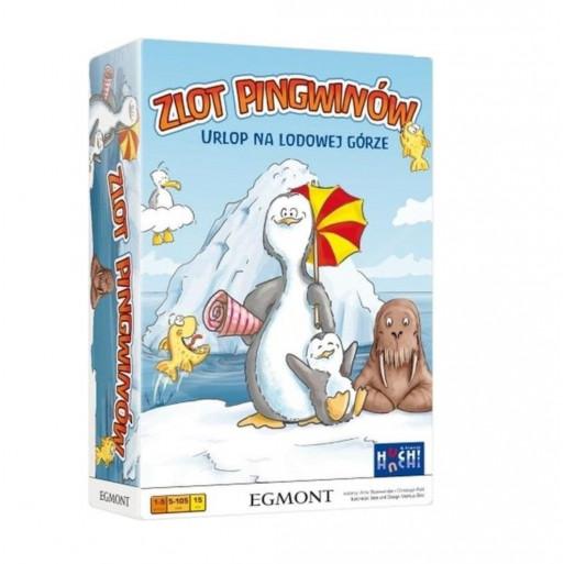 Gra - Zlot pingwinów