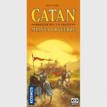 Catan: Miasta i Rycerze 5/6 graczy GALAKTA