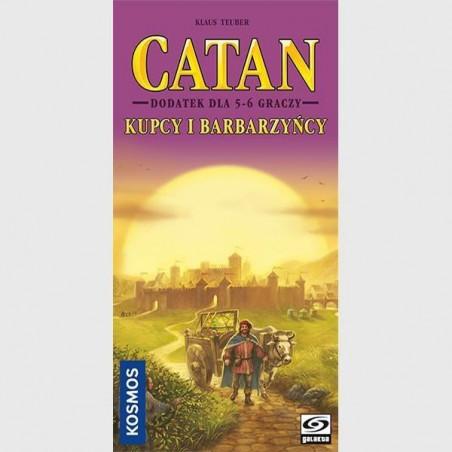 Catan: Kupcy i Barbarzyńcy 5/6 graczy GALAKTA