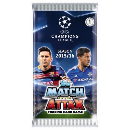 Liga Mistrzów - Saszetka z kartami (6szt)