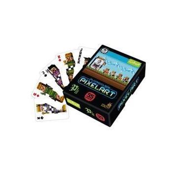 Karty - Pixel Art TREFL