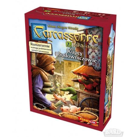 Carcassonne 2 - Kupcy i budowniczowie Edycja 2