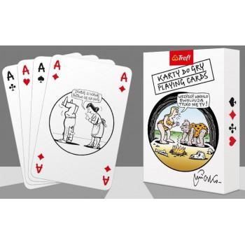 Karty - Mleczko 14907 55 listków TREFL