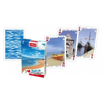 Karty - Kocham Polskę Bałtyk Plaża TREFL