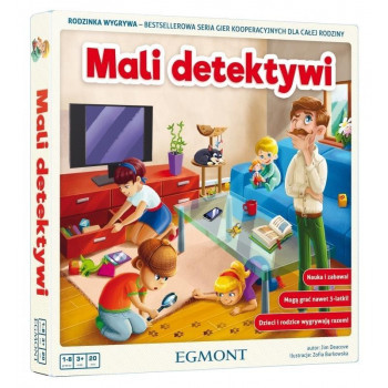 Gra - Mali detektywi EGMONT