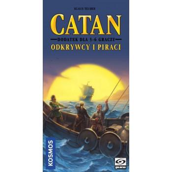 Catan: Odkrywcy i Piraci 5/6 graczy GALAKTA