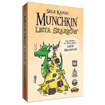 Munchkin Lista Skarbów BLACK MONK